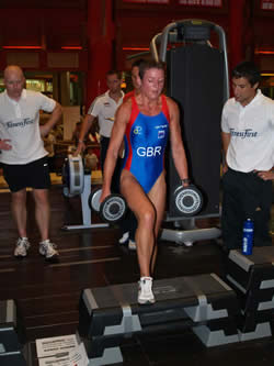 Michelle Parsons making a welcome one off  return to X Training for Best of the Best in Dubai.