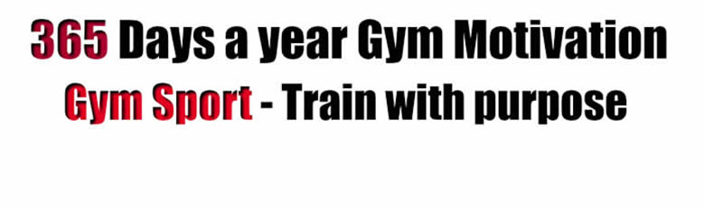 Don't just be a gym member - Become a Gym Athlete.